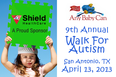 9th Annual Autism Walk To Support Any Baby Can Shield