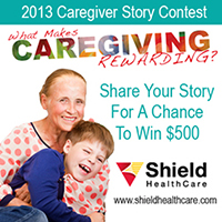 2013 Caregiver Story Contest Update