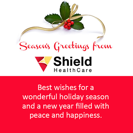 Seasons Greetings from Shield HealthCare