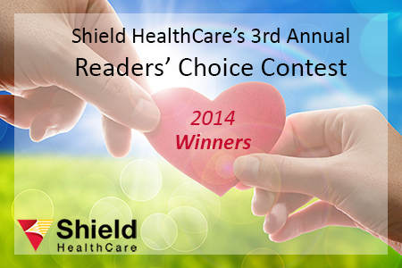 Shield HealthCare's Readers Choice Contest Winners 2014