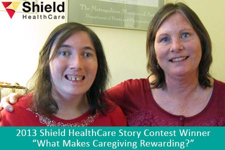 Shield HealthCare Caregiver Story Contest 2013 Runner Up Tamara E.
