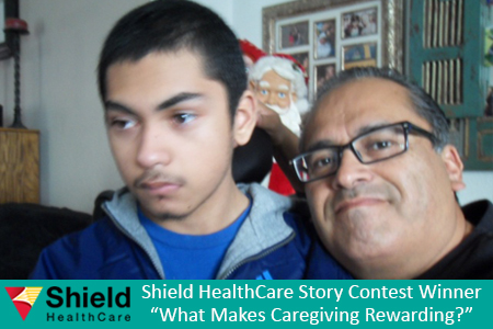 Shield HealthCare Caregiver Story Contest 2013 Runner Up Tony C.