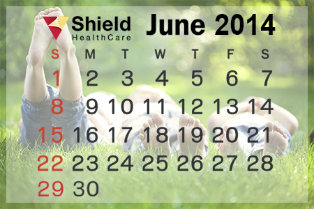 Shield HelathCare's eNewsletter June 2014