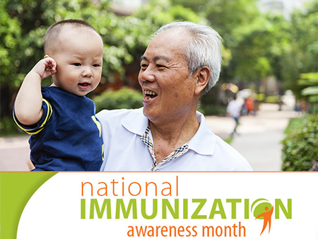 August is National Immunization Awareness Month 2014