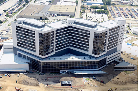 Texas construction hospitals