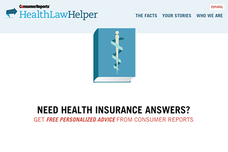 Personalized health insurance finder.