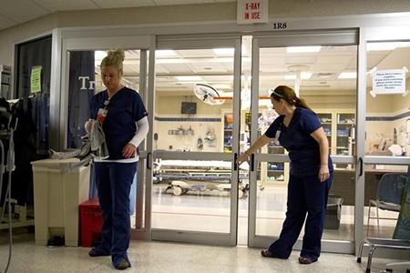 Rival hospitals
