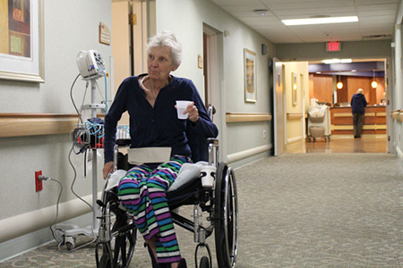 Moving out of nursing homes