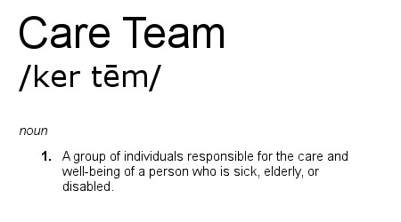 Care Team Definition
