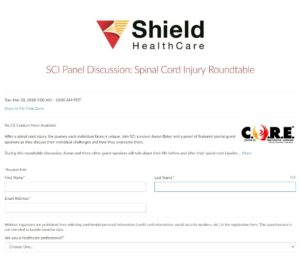 SCI Panel Discussion: Spinal Cord Injury Roundtable Webinar