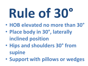 Rule of 30 guidelines.