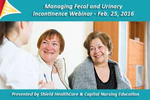 Managing Urinary and Fecal Incontinence Webinar