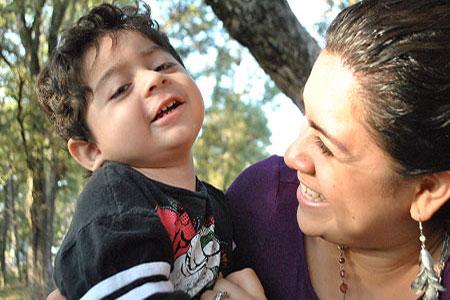 Cerebral Palsy and Unconditional Love hijo con Parálisis Cerebral