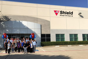 shield healthcare expands texas operations
