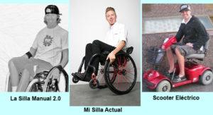 mis sillas de ruedas