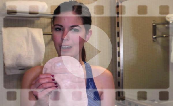 cómo cambia la bolsa de ostomía