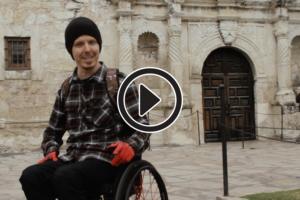 using a wheelchair in San Antonio