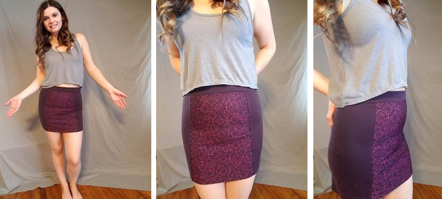 9f6ee3cdbd ... of clothing to smooth out your ostomy pouch, but these skirts are also  able do the trick on their own. Think thick material and patterns and/or  texture.