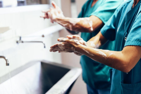 infection control healthcare safe work practices