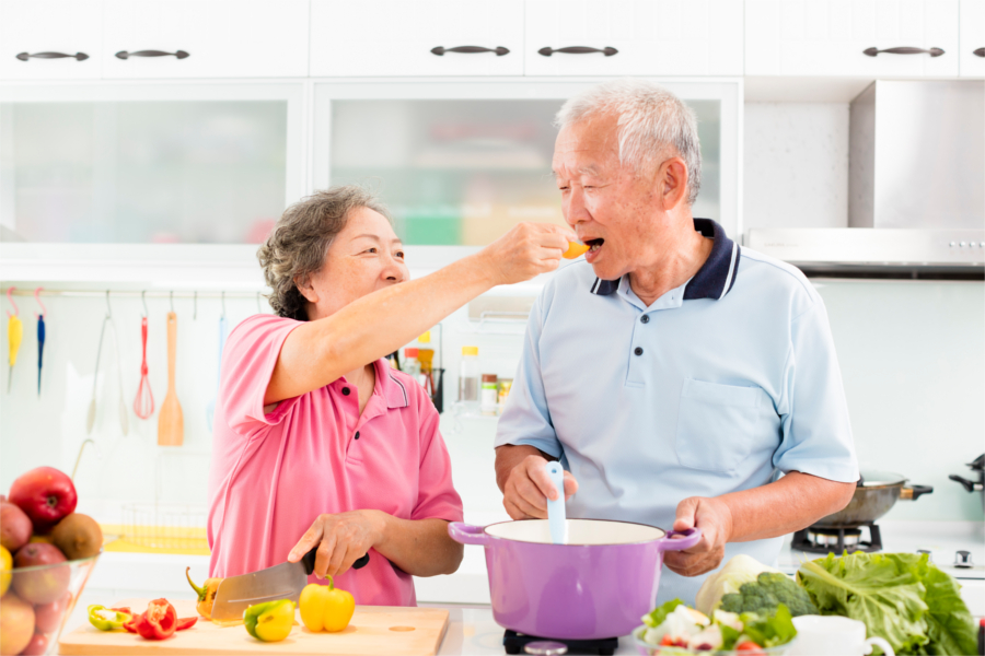 Thrive over 65 Nutrition Tips for Older Adults Webinar