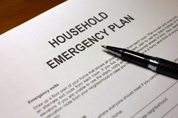 evaluate household emergency plan