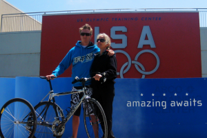 The Paralympic Journey: Aaron Baker with his Mother