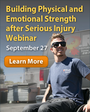 Webinar: Building Physical and Emotional Strength after Serious Injury