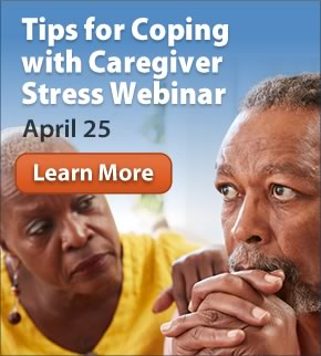 Tips for Coping with Caregiver Stress Webinar