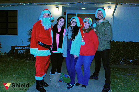 Shield HealthCare visits United Cerebral Palsy over the holidays