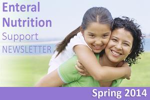 Shield HealthCare Spring 2015 Enteral Nutrition Support Newsletter