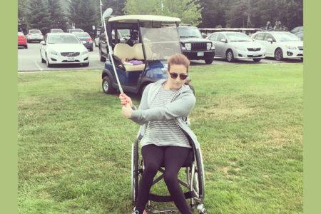 estar en forma con una silla de ruedas