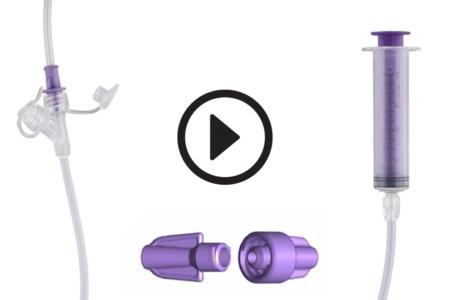 ENFit enteral connectors