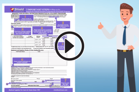 CCS Enteral Nutrition Form