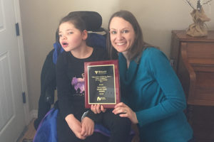 Caregiver Contest Grand Prize Winner Sara