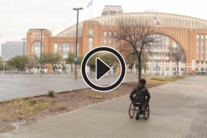 using a wheelchair in Dallas