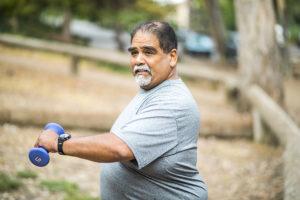 actividad física con una ostomía