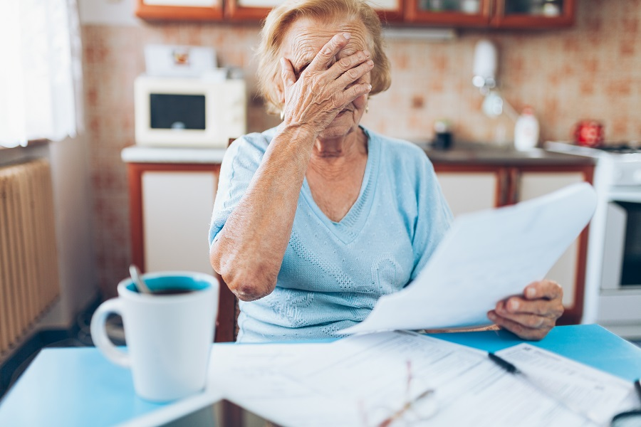 financial reality of being really sick
