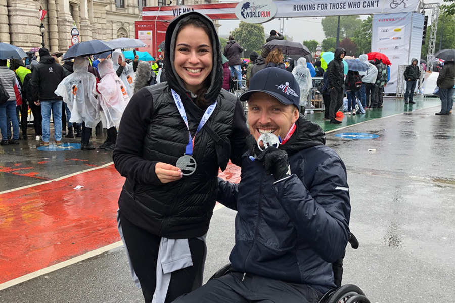 Wings for Life World Run May 2019 Aaron Baker