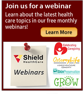 Learn about the latest health care topics in our free monthly webinars!