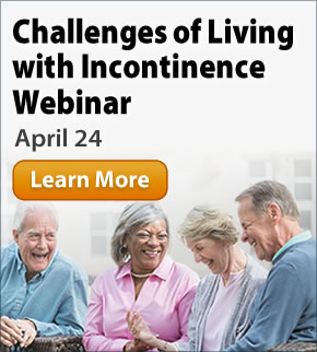 Reducing the Stigma: Social and Emotional Challenges of Living with Incontinence Webinar: April 24
